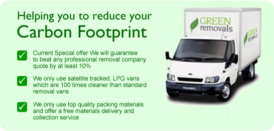 environmentally friendly London Removals Company